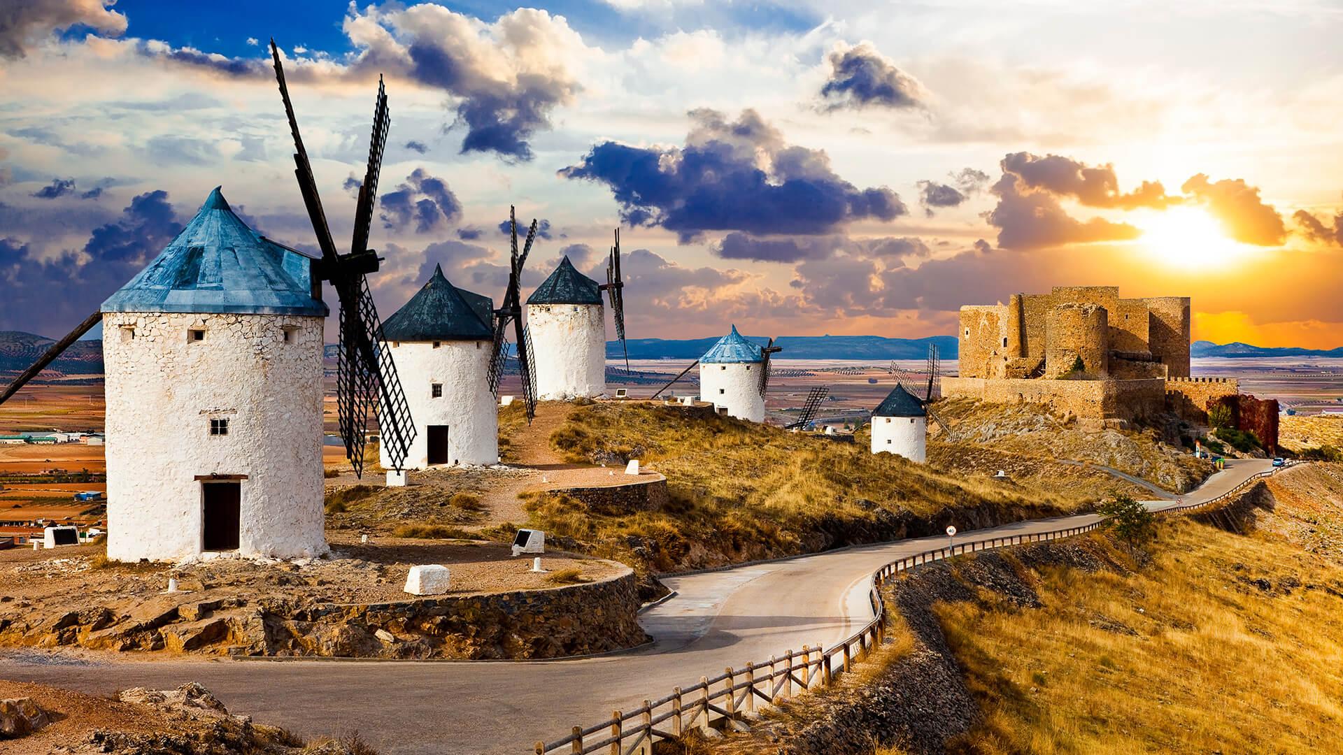 Los paisajes de Cervantes